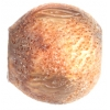 "Resin Bead Round 25mm 8"" Str. (Approx.8pcs) Burnt Light Copper"